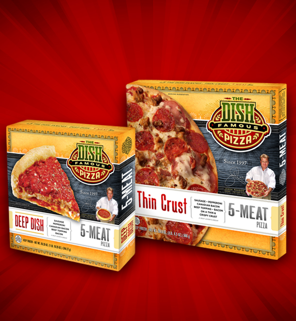 Building An Identity For The Dish Famous Pizza