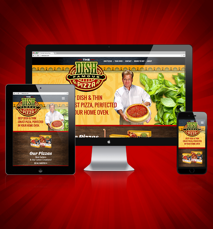 The Dish Pizza Website